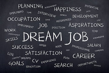 Get out there and find your dream job...