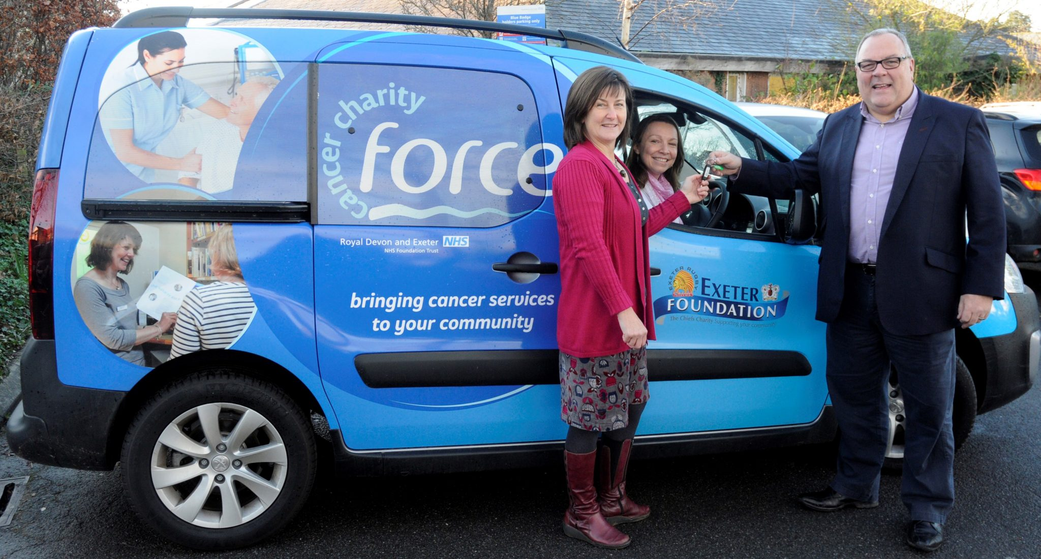 FORCE funds chemo service in Okehampton